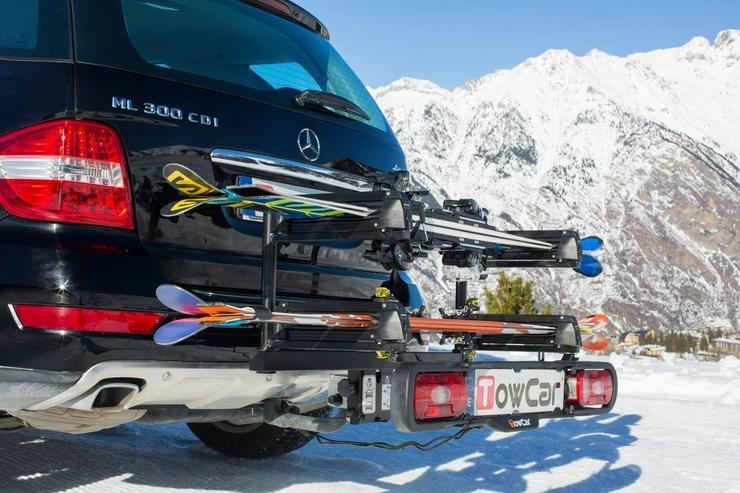 Towcar Aneto ski/snowboardträger