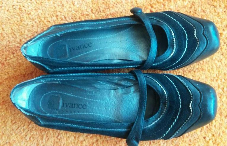 Damen Schuhe elegant Gr.38 in Schwarz Vivance