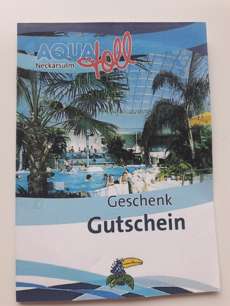 Gutschein AQUAtoll Neckarsulm