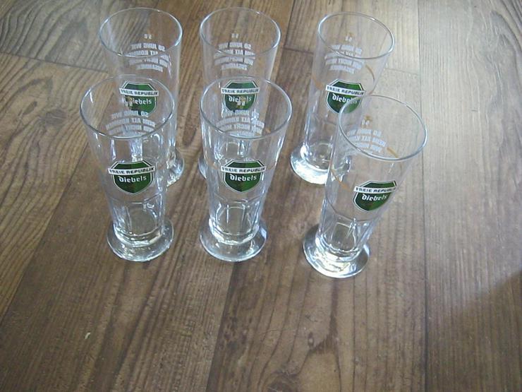 6 Diebels Alt Gläser - Gläser - Bild 1