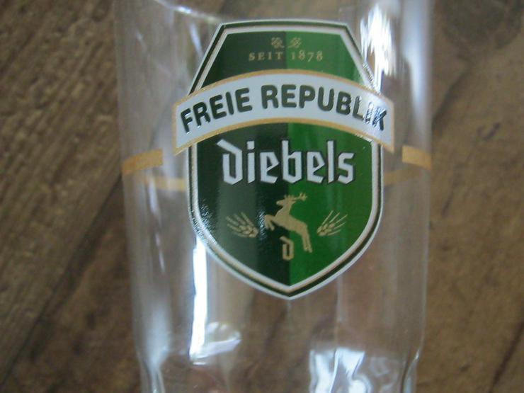 Bild 2: 6 Diebels Alt Gläser