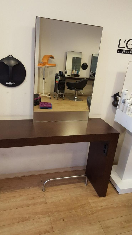 Bild 3: Friseureinrichtung Bedienplätze inkl. 2 Spiegel