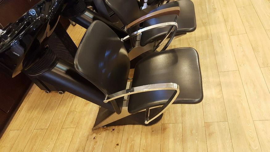Bild 3: Friseureinrichtung Waschbecken inkl. Stuhl