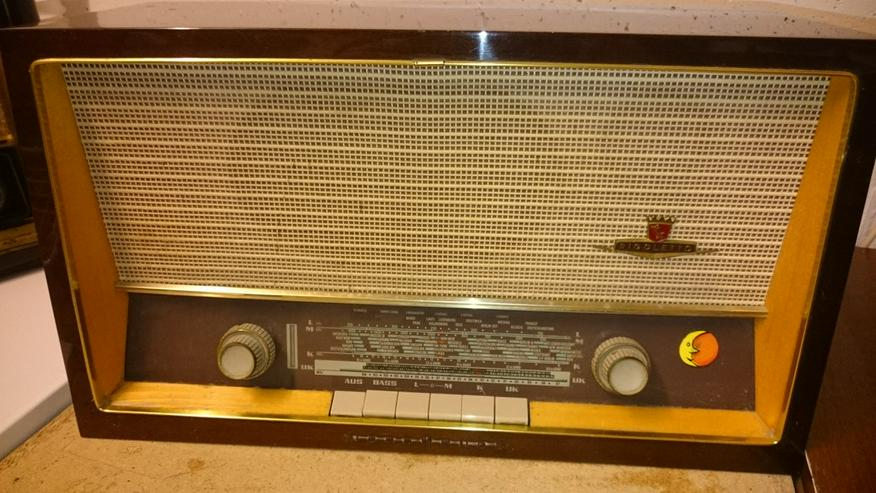 2 Stück Radio - Oltimer