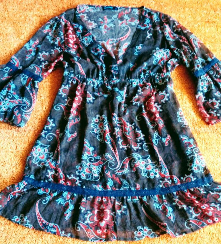 Damen Kleid lässige Tunika Gr.40/42/L Colours - Größen 40-42 / M - Bild 1
