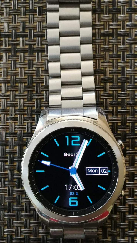 Samsung gear 3 classic mit Edelstahlarmband