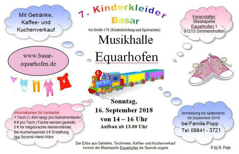 Bild 2: 7. Kinder Kleider Basar PLZ 97215 Equarhofen
