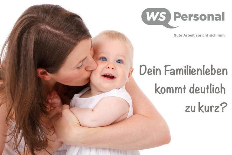 Wir bieten familienfreundliche Arbeitszeiten!