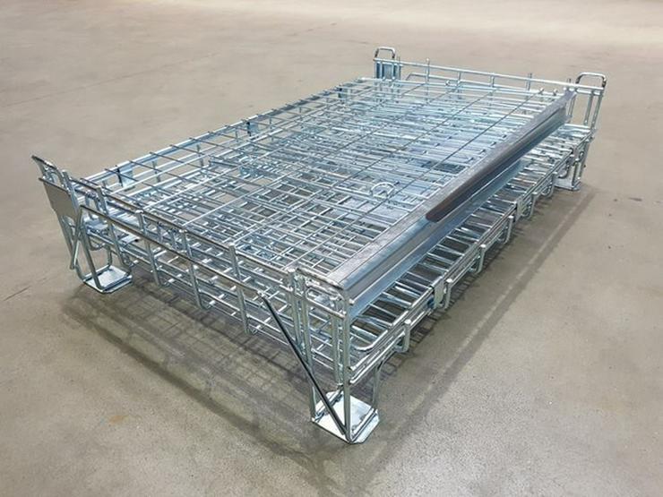 Bild 3: Gitterbox verzinkt, Metallbehälter