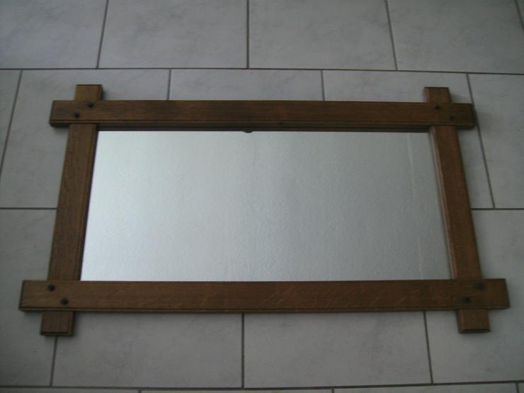 alter Spiegel Wandspiegel Holzrahmen-BIS 30.09.