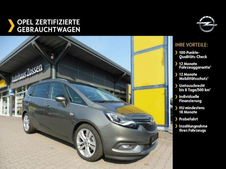 OPEL Zafira 'Innovation' 2.0CDTI Automatik 7-Sitzer Navi Front-/Rückfahrkamera DAB+ - Zafira - Bild 1