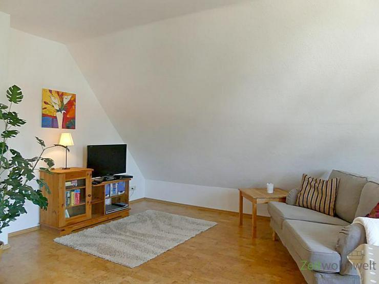 (EF0385_M) Dresden: Weixdorf, urgemütliche kleine Zweizimmerwohnung mit neuen Möbeln, se...