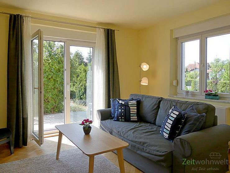 (EF0413_M) Dresden: Weixdorf, neu möblierte 2-Zimmer-Wohnung mit Wohnküche und Terrasse,... - Bild 1