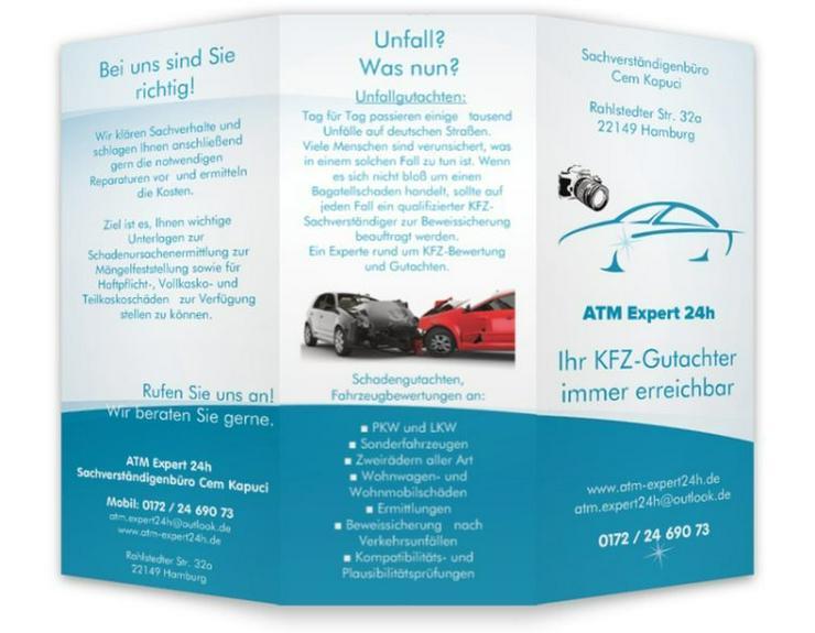Fahrzeug Gutachten, Unfall, Fahrzeugbewertung