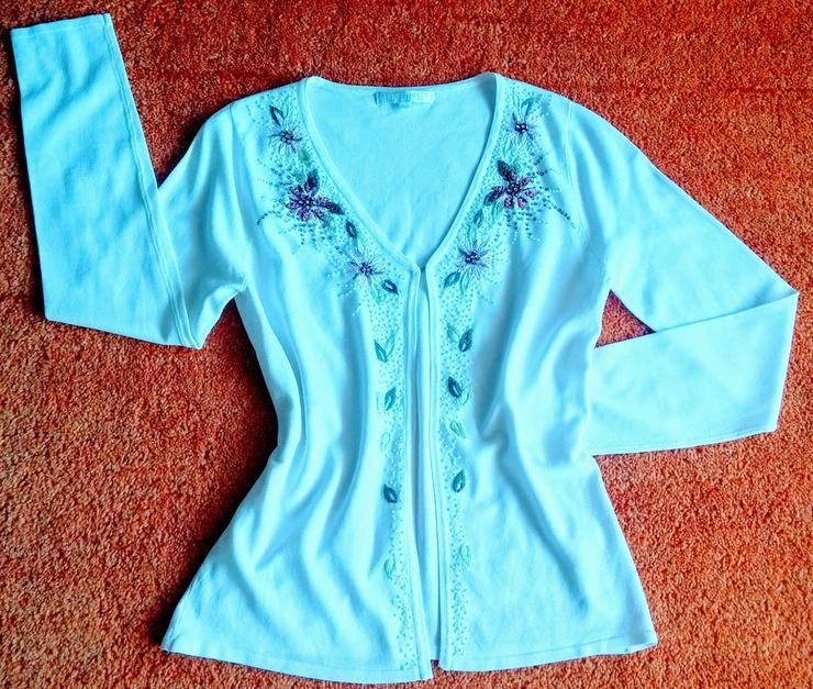 NEU Damen Jacke Sommer strick Gr.S Imagini - Größen 36-38 / S - Bild 1