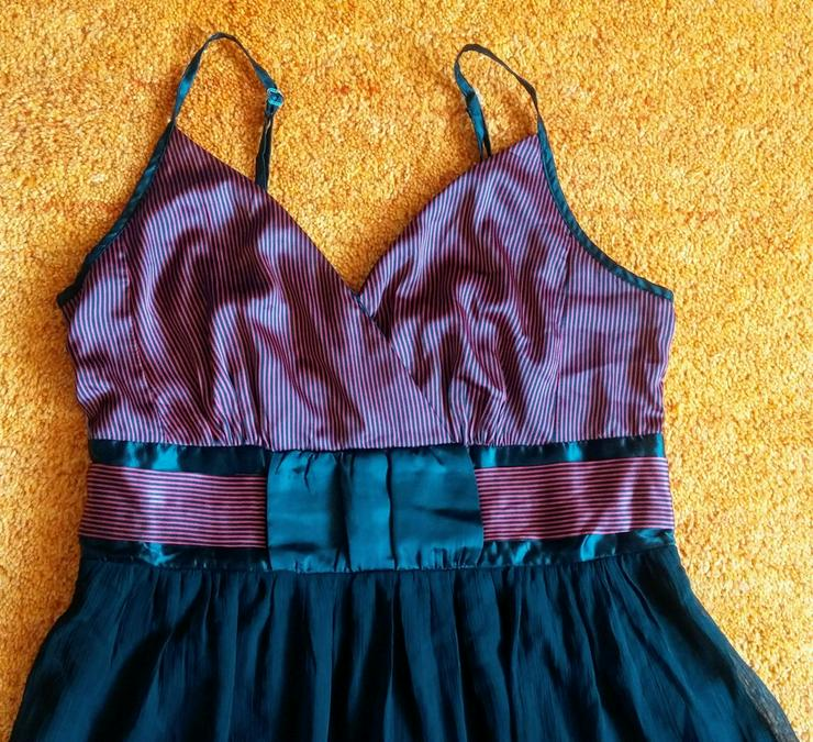 Bild 2: Damen Kleid Träger Satin Gr.42 Bon Prix NW