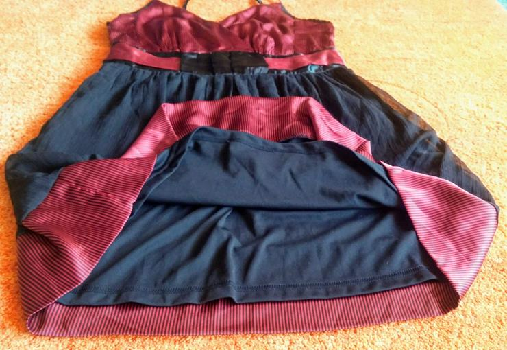 Bild 4: Damen Kleid Träger Satin Gr.42 Bon Prix NW