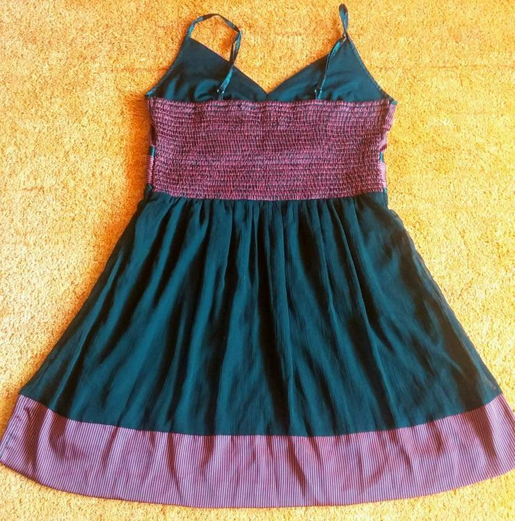 Bild 6: Damen Kleid Träger Satin Gr.42 Bon Prix NW