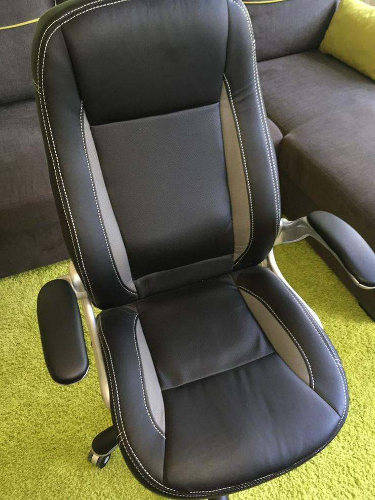 eleganten Chefsessel im zeitlosen schwarz - Bürostühle - Bild 1