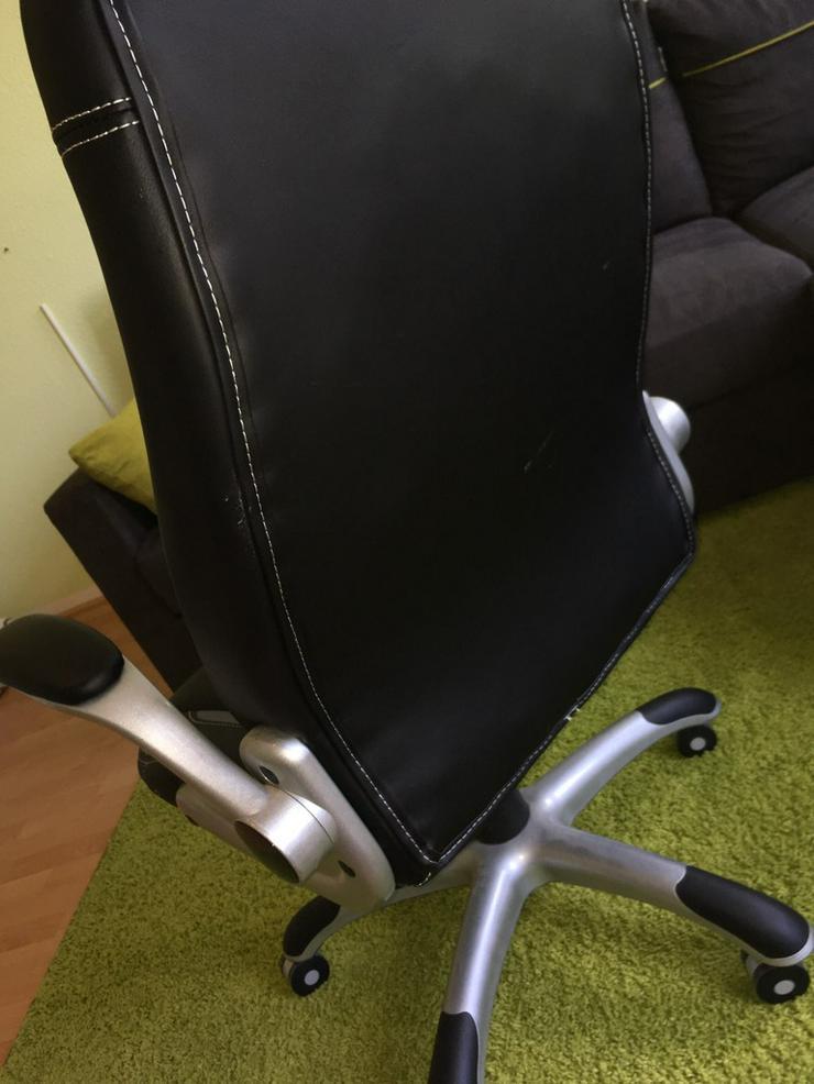 Bild 3: eleganten Chefsessel im zeitlosen schwarz
