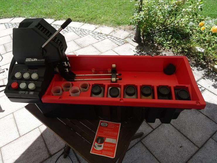 Bild 2: JOBO Entwicklungsmaschine CPA2/CPP2 mit Zubehör