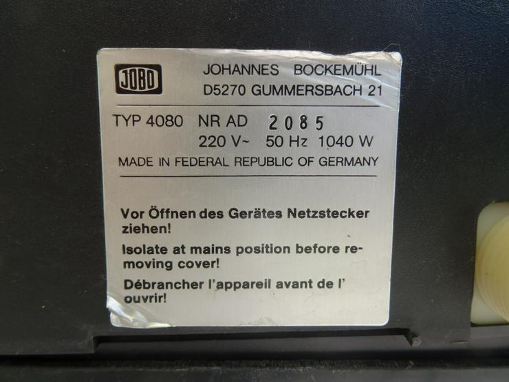 Bild 5: JOBO Entwicklungsmaschine CPA2/CPP2 mit Zubehör
