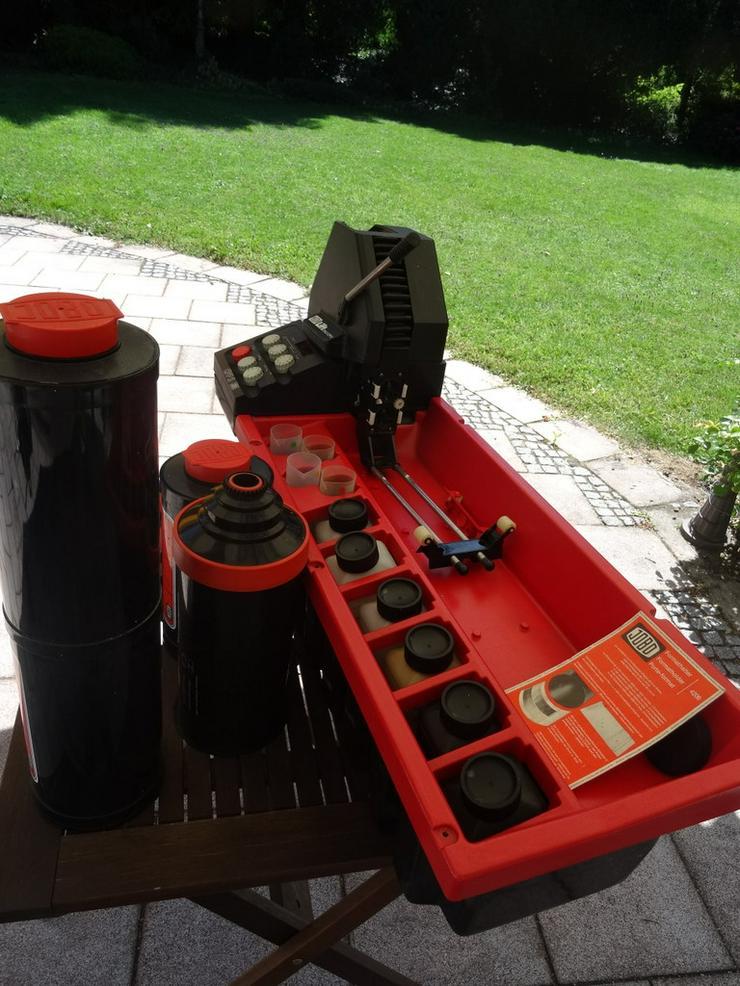 Bild 6: JOBO Entwicklungsmaschine CPA2/CPP2 mit Zubehör