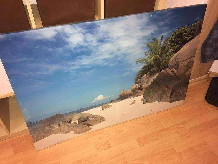 schönes Strandbild 120x80