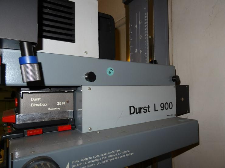 Bild 4: Durst Vergrösserer CSL 450 / L900 / TRA450