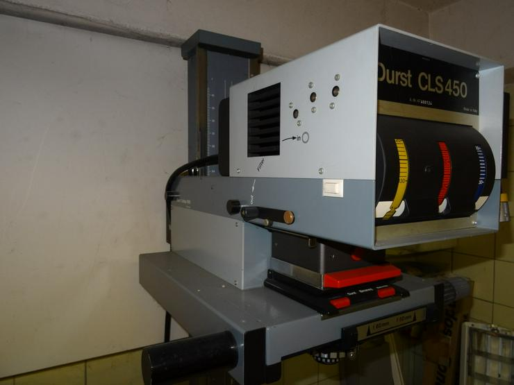 Bild 5: Durst Vergrösserer CSL 450 / L900 / TRA450