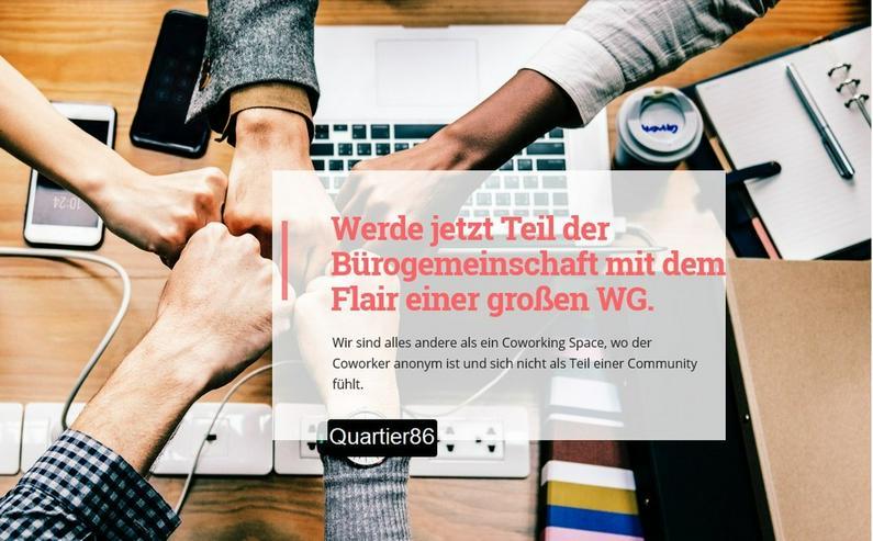 Coworking Hamburg Büroplatz in Bürogemeinschaft