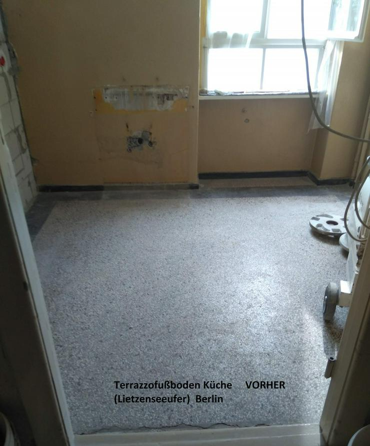 Bild 2: Terrazzo, Marmor Fußboden schleifen...