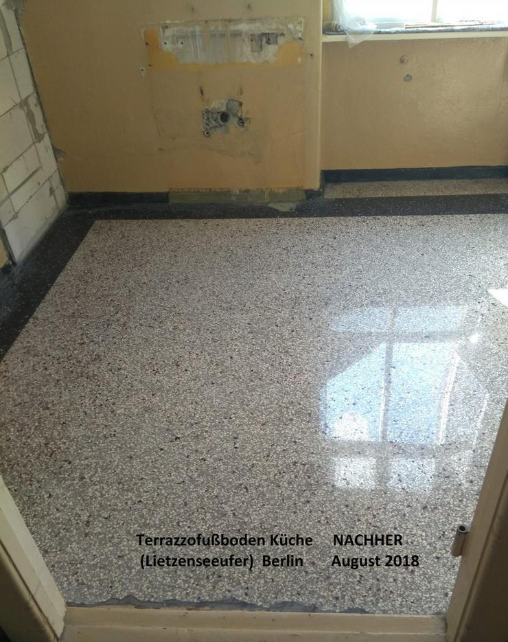 Bild 3: Terrazzo, Marmor Fußboden schleifen...