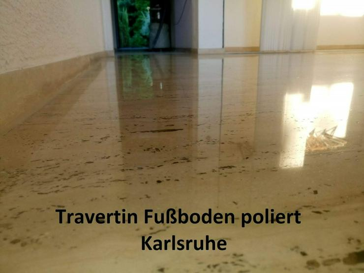 Bild 5: Terrazzo, Marmor Fußboden schleifen...