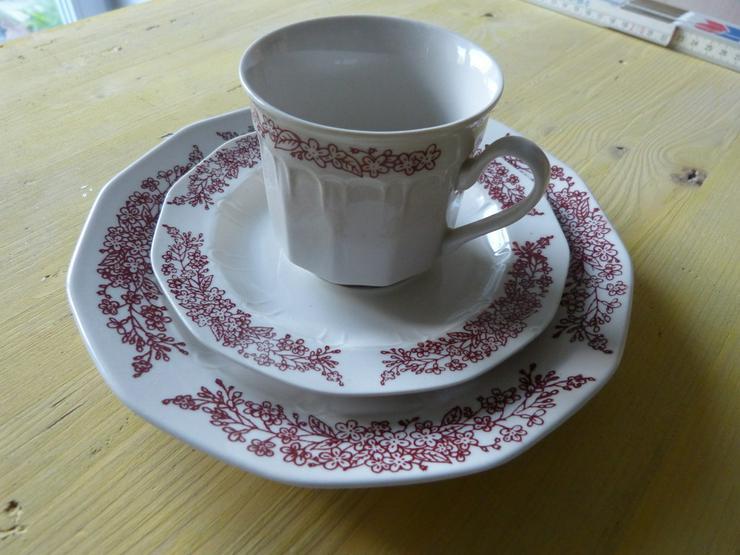 Braunes Kaffee-Geschirrset 15 tlg. von Apulum