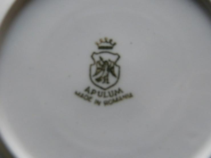 Bild 2: Braunes Kaffee-Geschirrset 15 tlg. von Apulum