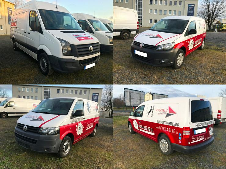 GETCHARLIE Autovermietung Transporter Mieten - Auto & Motorrad - Bild 1