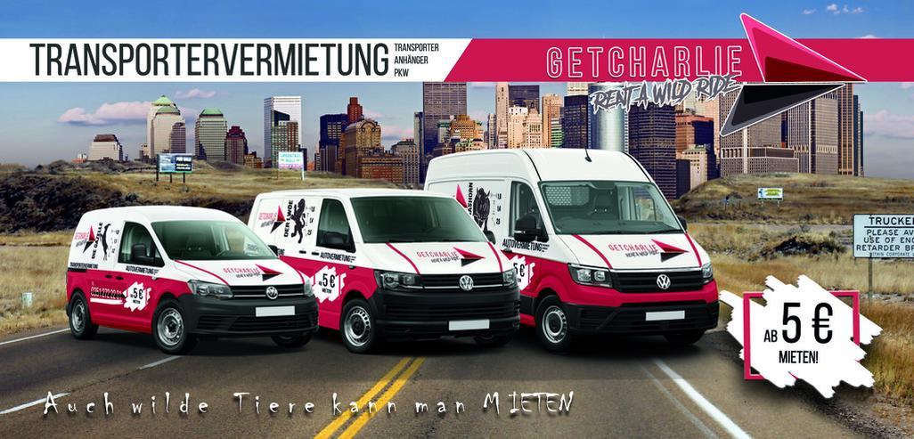 GETCHARLIE Transporter Mieten in Dresden - Auto & Motorrad - Bild 10