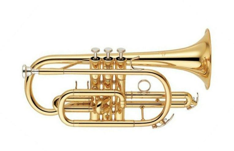 Bild 3: Yamaha Profi B - Kornett, Mod. YCR 6330 II