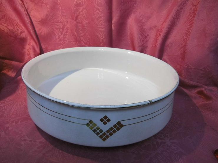 Bild 2: Antikes 2teiliges Waschset, Waschschüssel und