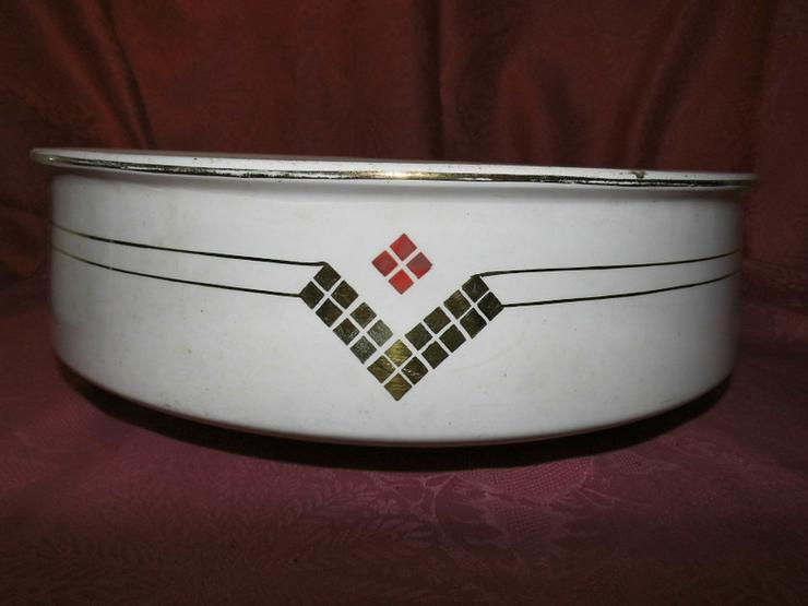 Bild 3: Antikes 2teiliges Waschset, Waschschüssel und