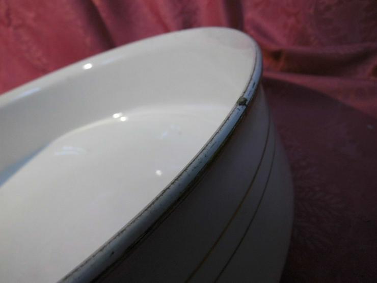 Bild 5: Antikes 2teiliges Waschset, Waschschüssel und