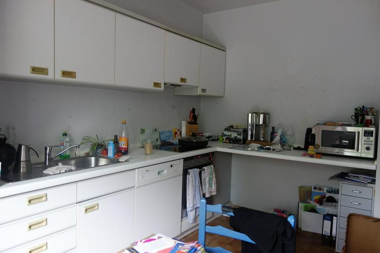 Küchenzeile, lichtgrau, ca.