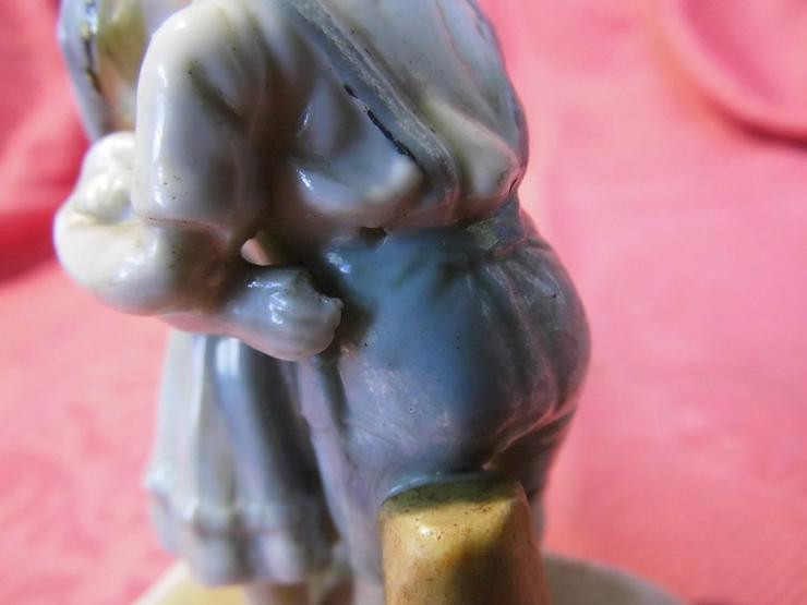 Bild 6: Antike Porzellanfigur Küssendes Kinderpärchen
