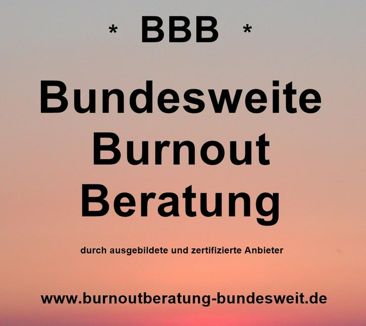 Werbung zum Thema Burnout