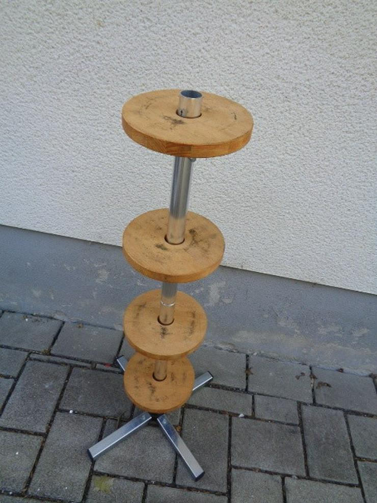 Felgenbaum Reifenhalter mit Holz