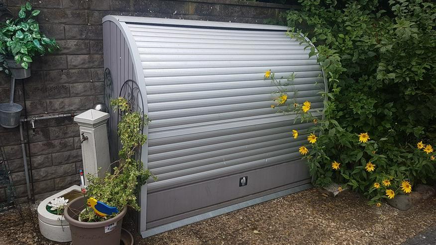 Fahrrad oder Gartengerätebox