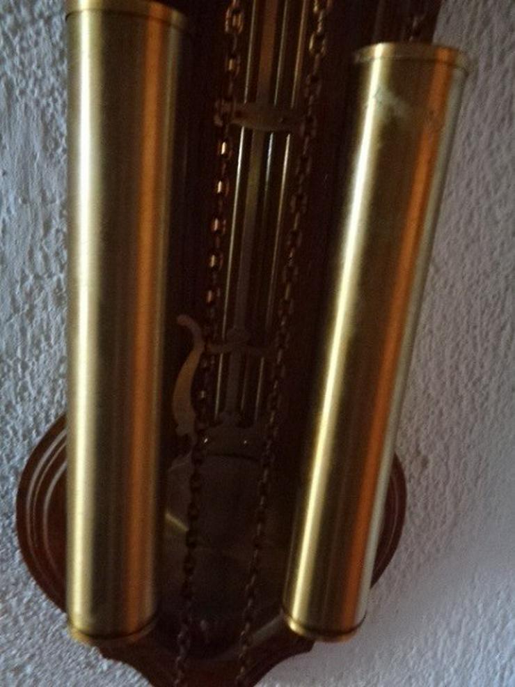 Bild 2: Alte mechanische Wanduhr+2 Gewichte Hermle