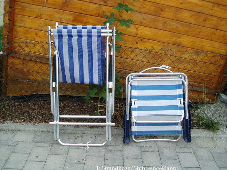Garten/Strandliege und Garten/Strandstuhl