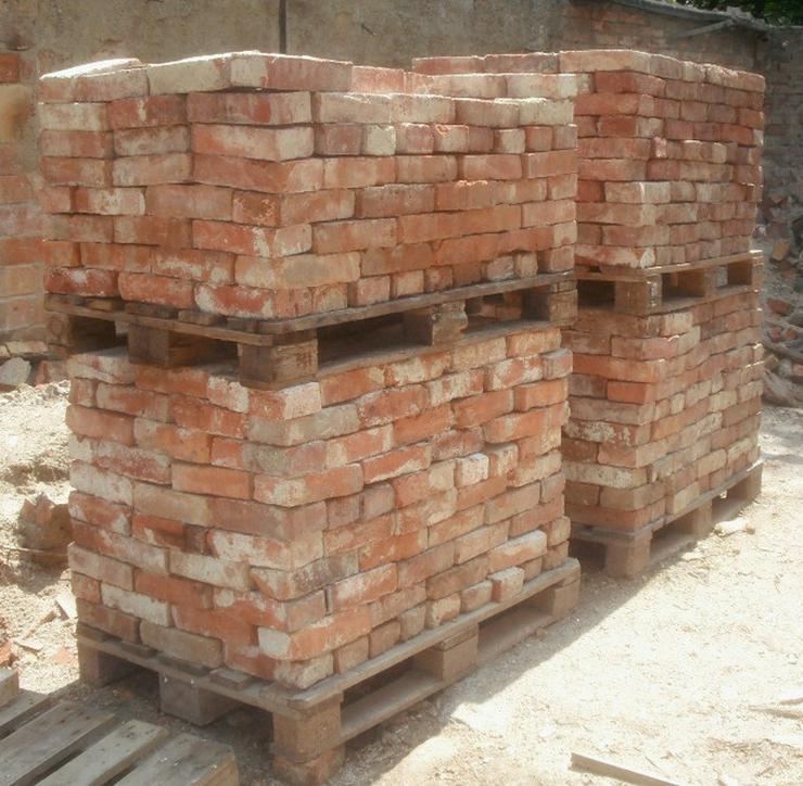 Bild 5: Antikziegel alte Mauersteine rustikale Ziegel